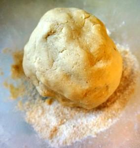 make a stiff dough